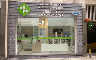 Nova loja All Pé no Rio de Janeiro